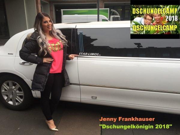 Jenny Frankhauser, die RTL Dschungelkönigin 2018