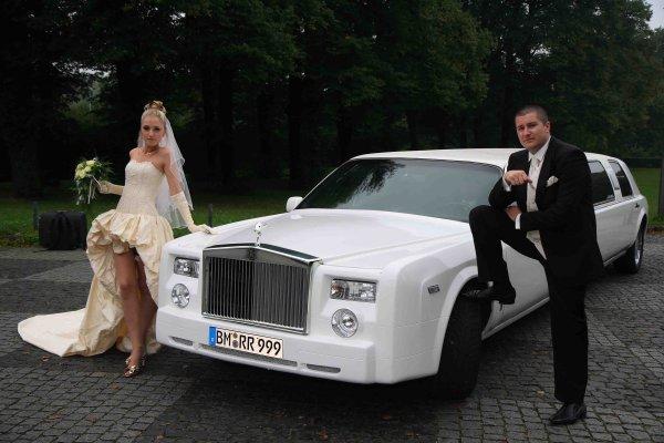 Hochzeit mit der Phantom Style Stretchlimousine