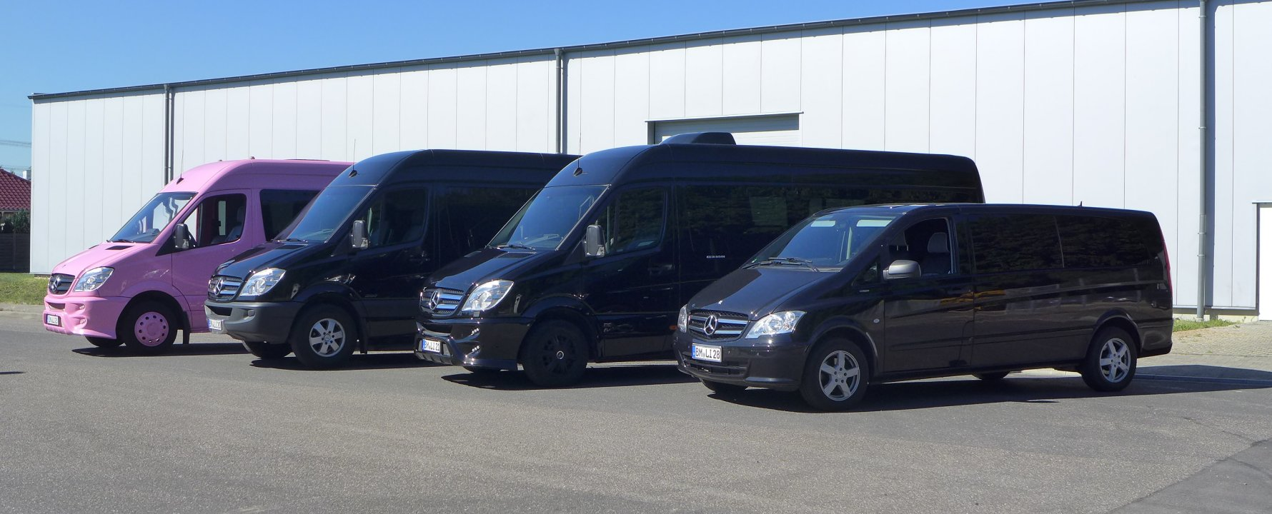 Mercedes Vans & Sprinter mieten